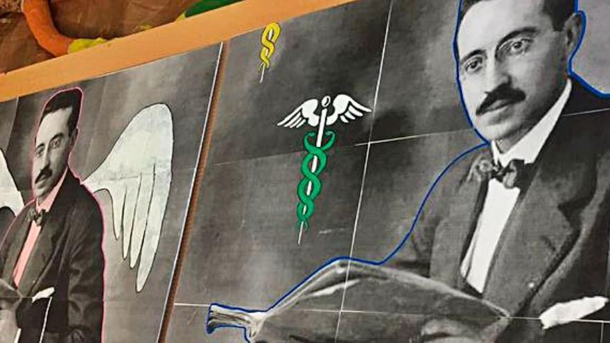 La secció de l'IES Peset Aleixandre de Paterna homenatja el metge afusellat