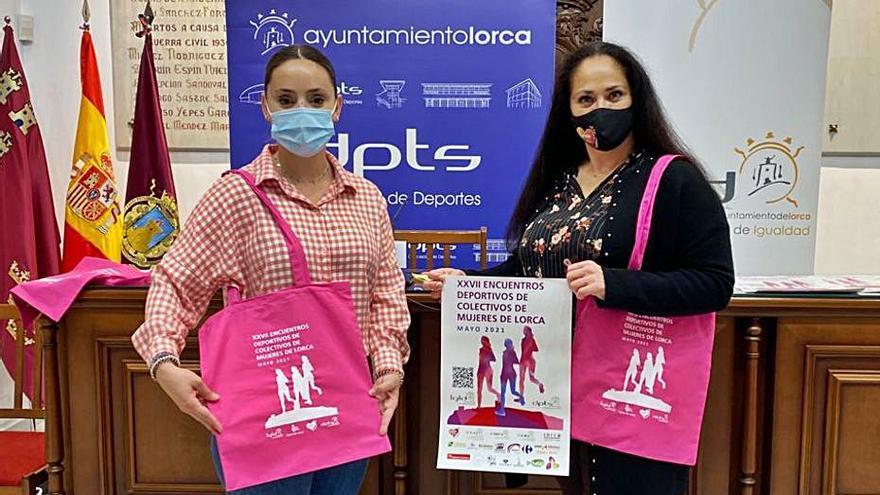 Los Juegos Deportivos de la Mujer de Lorca se celebrarán en mayo