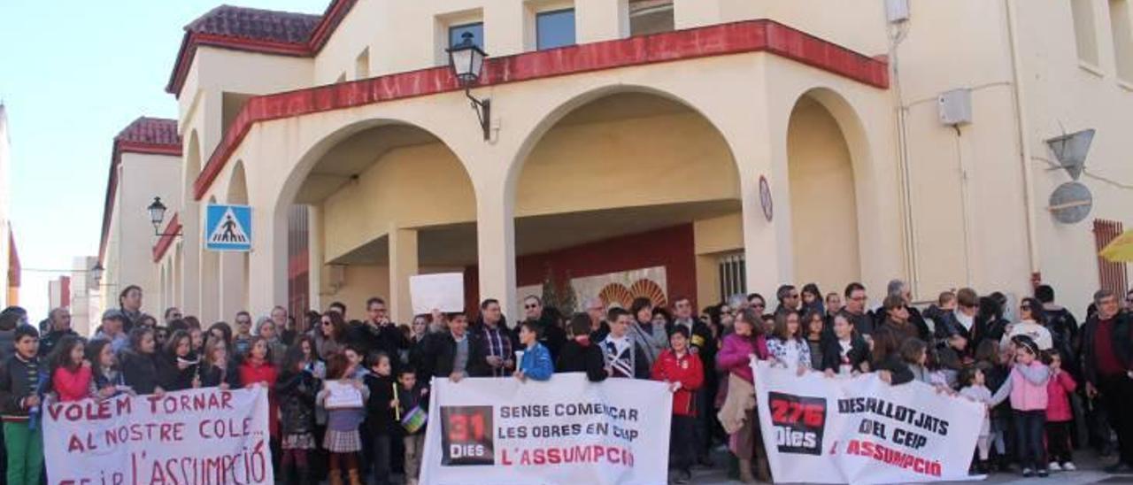 Educación licita la reforma del CEIP Asunción desalojado en mayo de 2013