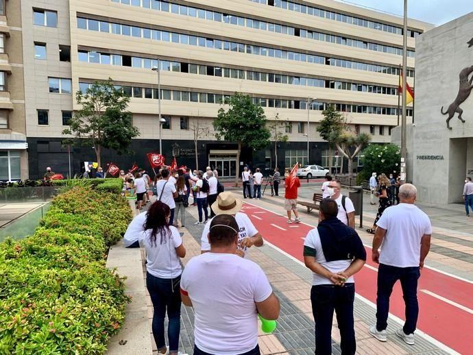 Protestas del personal de RIU Oliva Beach
