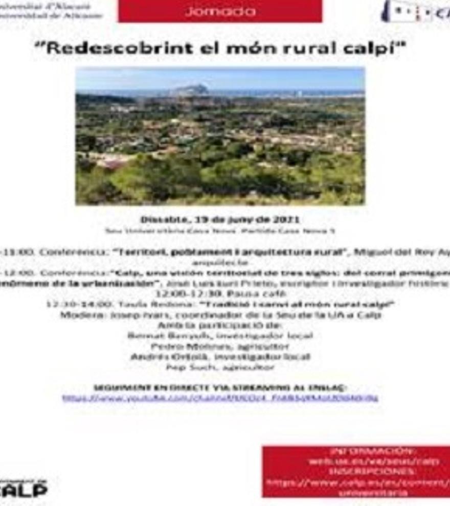 Tradición y cambio en el mundo rural calpino