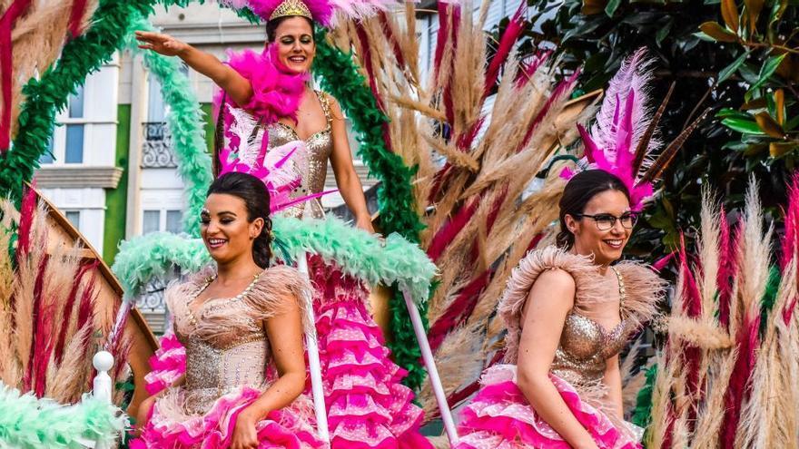 Carnaval a lo grande en Foz