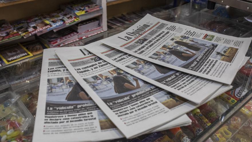 Los ciudadanos de Castilla y León confían más en la prensa de papel