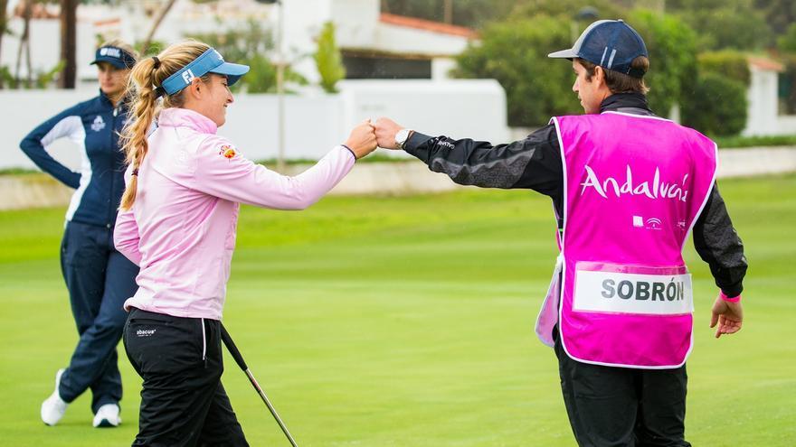 Luna Sobrón y Nuria Iturrioz se sitúan en el 'top-4' en Marbella