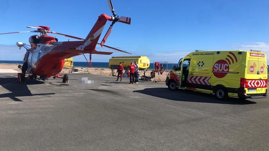 Recuperan el cuerpo sin vida de un pescador desaparecido en Gran Canaria