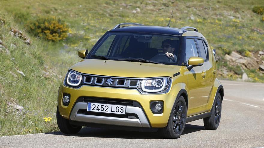 Suzuki Ignis Hybrid, iniciació tot terreny