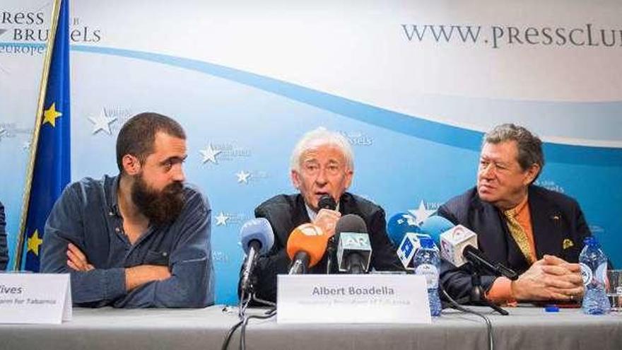 Tabarnia llega a Bruselas y a la casa de Puigdemont