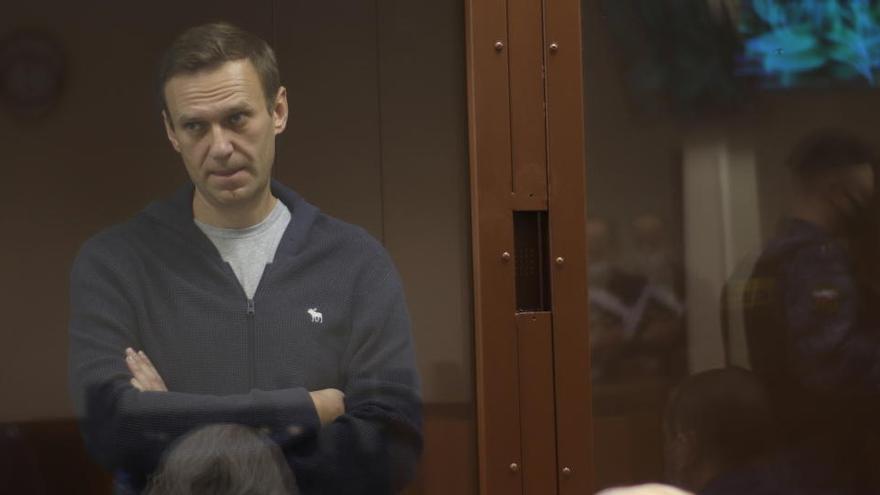 Navalni recurre la sentencia que hace efectiva la condena a prisión