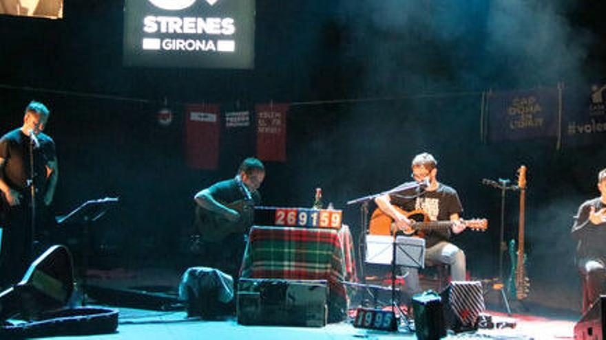 Ovidi 4 i el guitarrista Toti Soler homenatgen Ovidi Montllor en un concert «únic» al festival Strenes de Girona