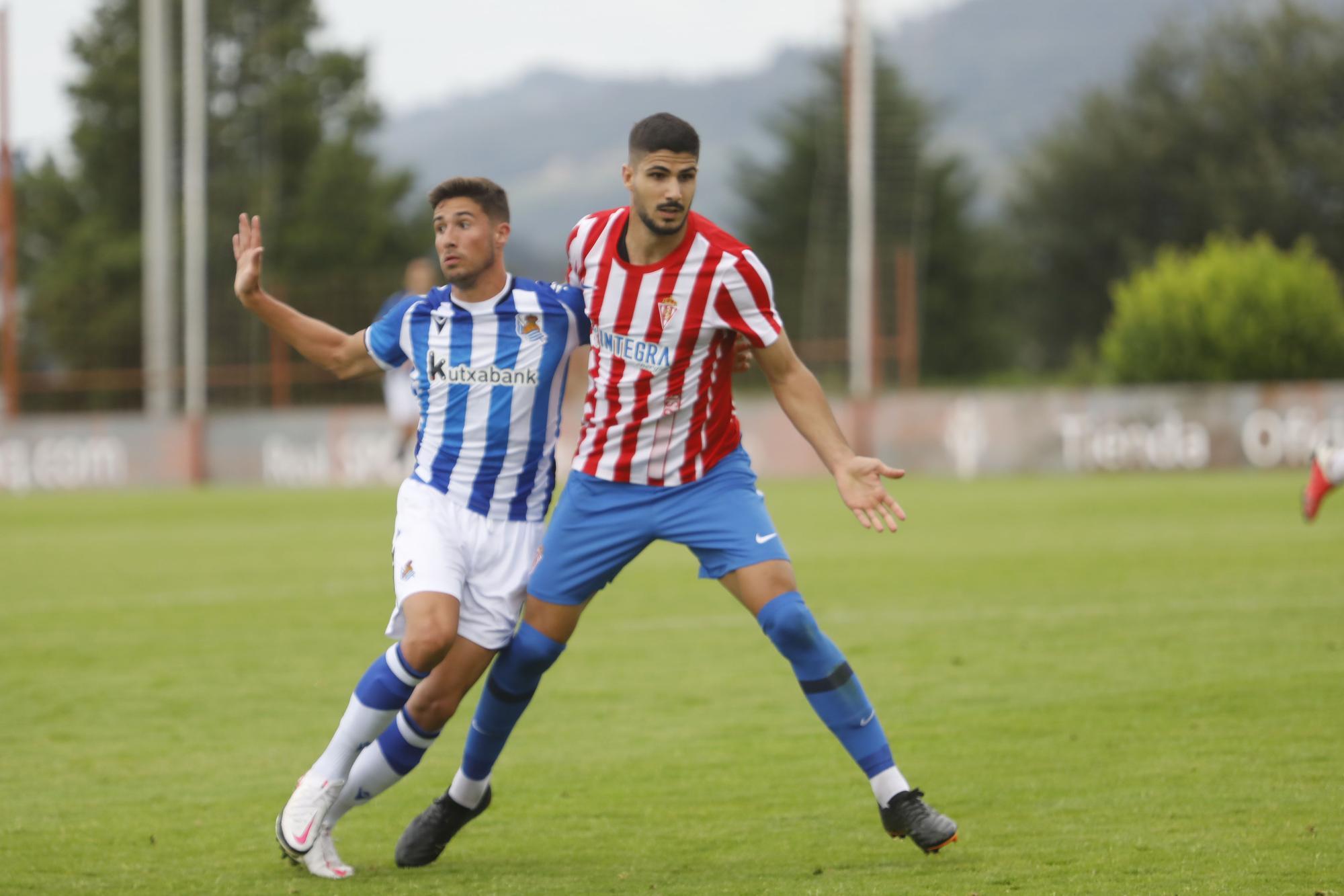 Sporting - Real Sociedad B, en imágenes
