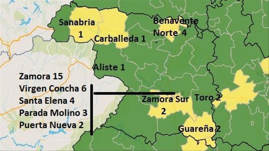 Zamora capital suma una segunda zona en amarillo por casos COVID