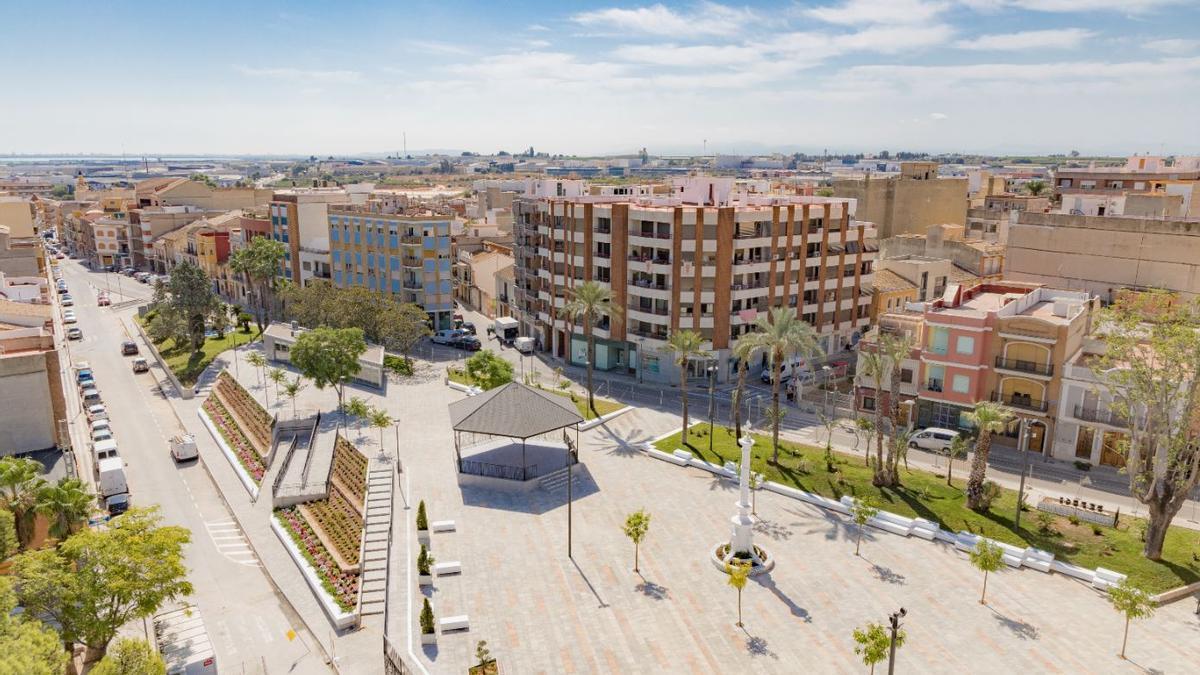 Esta remodelación, financiada al 50 % por Europa, ocupa un total de 4.326 m².