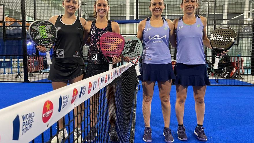Paula Josemaría y Ari Sánchez dicen adiós al Vigo Open en octavos de final