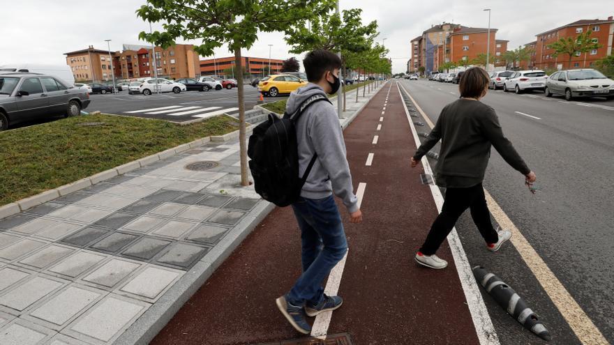 Lugones se podrá recorrer de punta a punta por carril bici en el plazo de dos años
