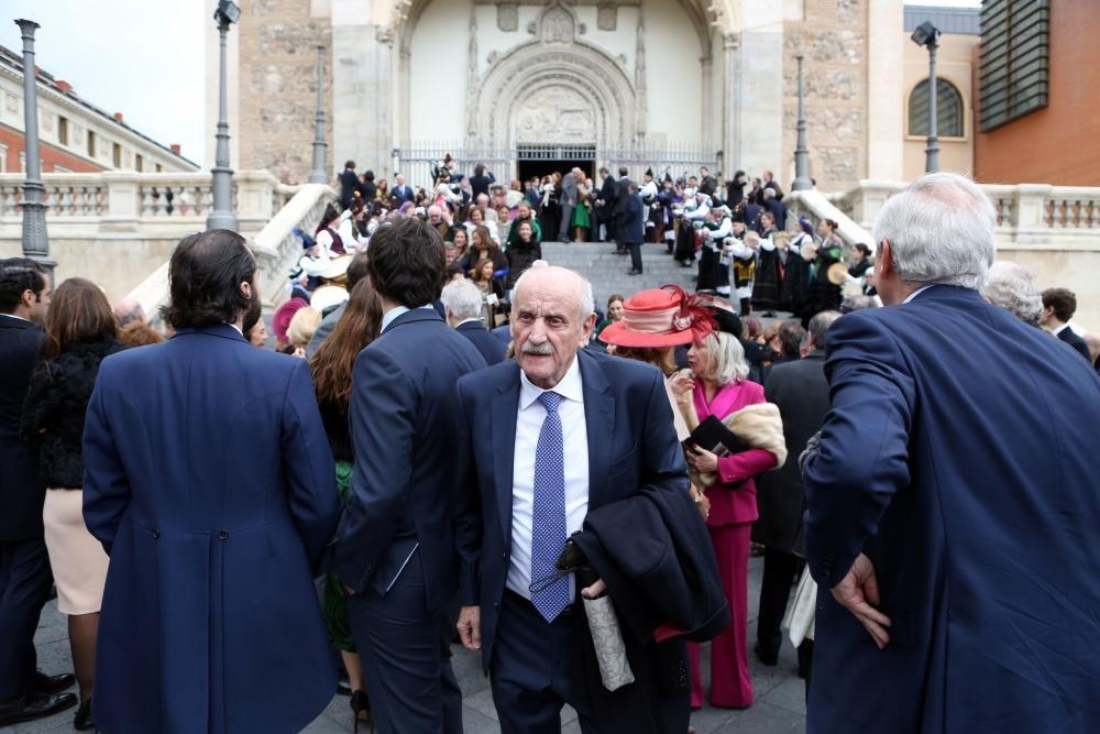 Enlace asturiano en los Jerónimos.