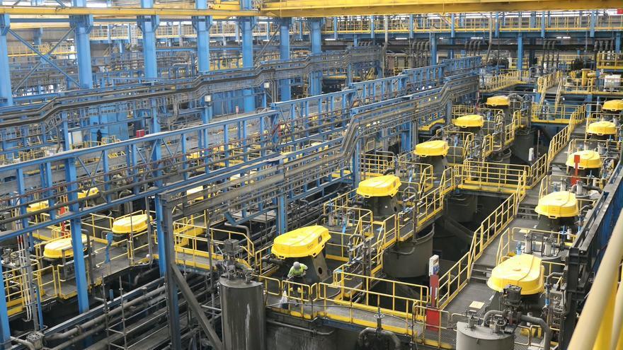 Los precios de exportaciones industriales se disparan un 8,7% en mayo