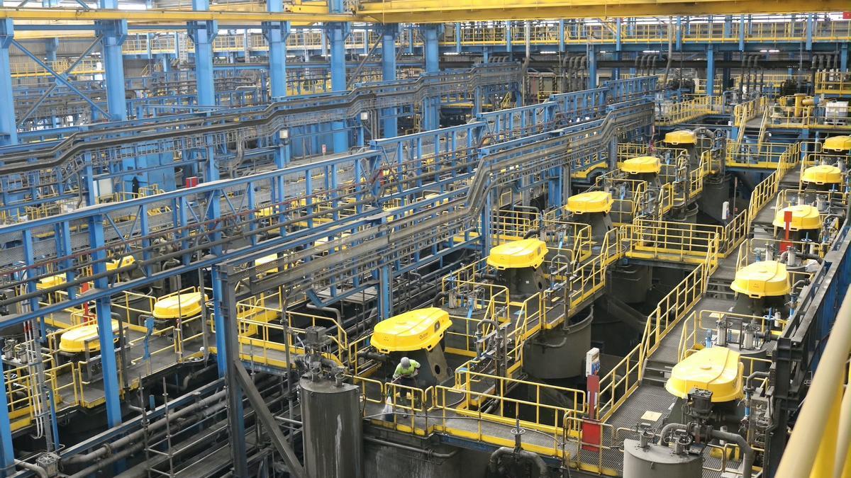 Una fábrica en Andalucía.