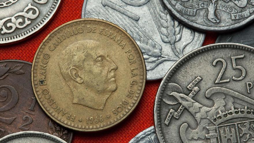 Los españoles aún conservan 1.602 millones de euros en pesetas sin cambiar