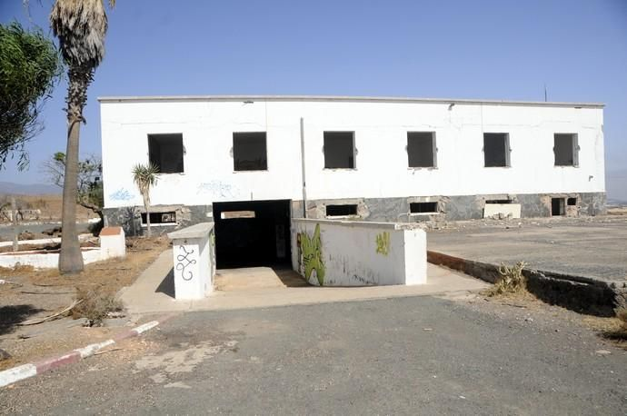 Antiguo pabellón de descanso del Ejército del Aire en El Goro (Telde)