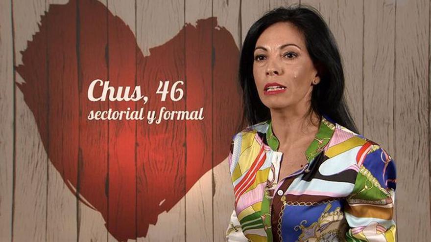 "Una indignada Chus en First Dates: ""Hablar no habla, pero tocar, toca"""