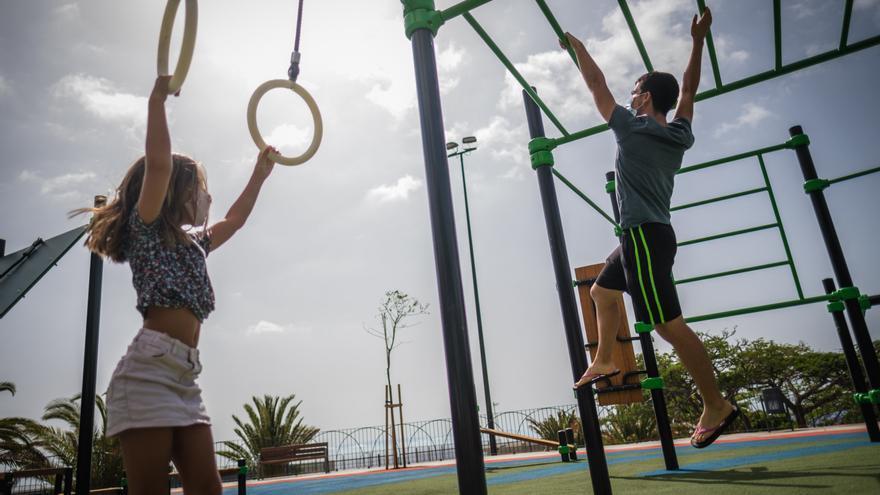 Abre el renovado Parque de la Estrella