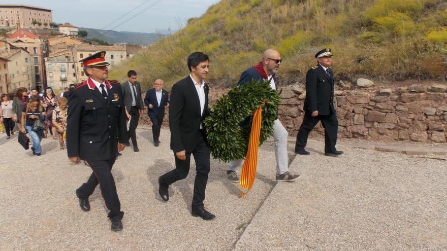 Cardona reivindica el protagonisme de la flama de la resistència catalana