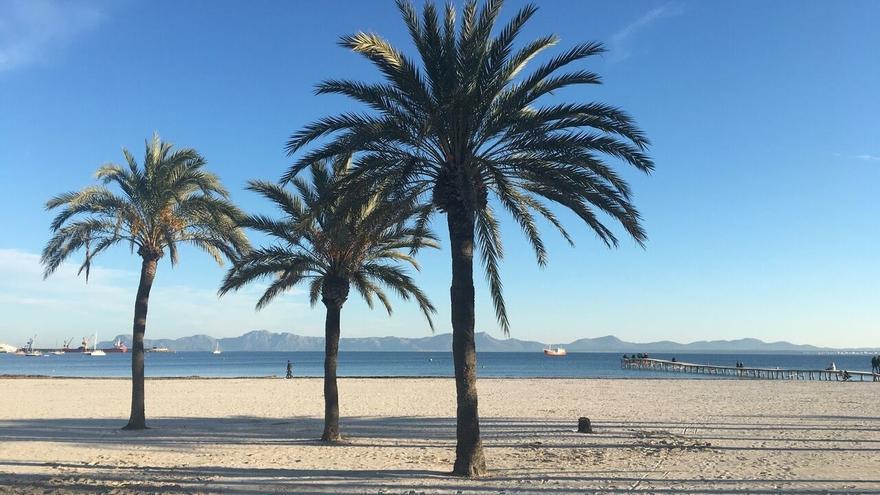 El tiempo sin cambios: las temperaturas siguen por debajo de los 30 grados en Mallorca