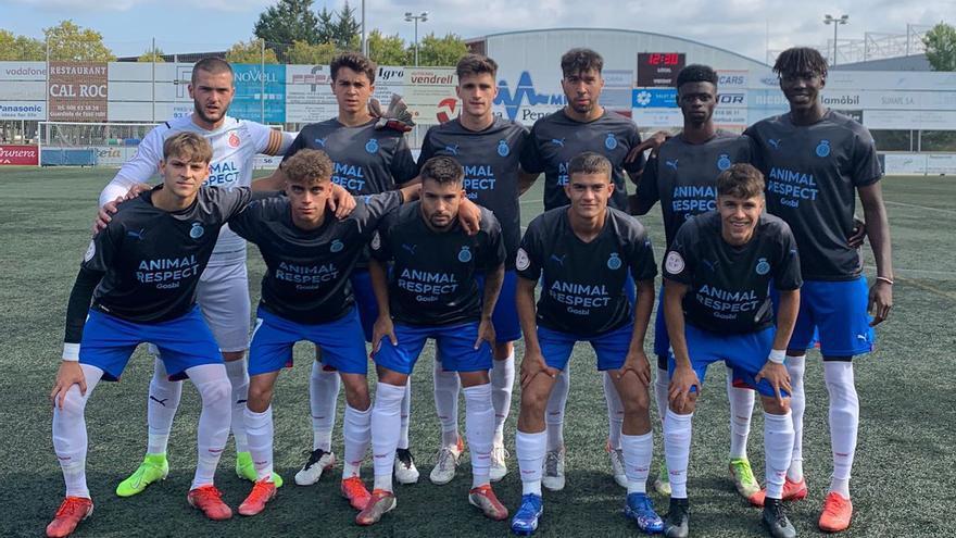 El Girona B encaixa la primera derrota del curs (1-0)