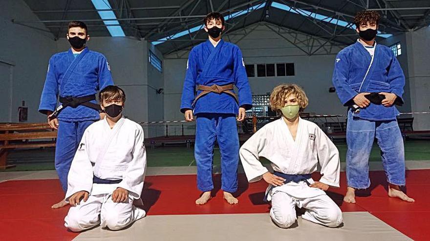 El Judo Club Base disputa el Campeonato Gallego Júnior