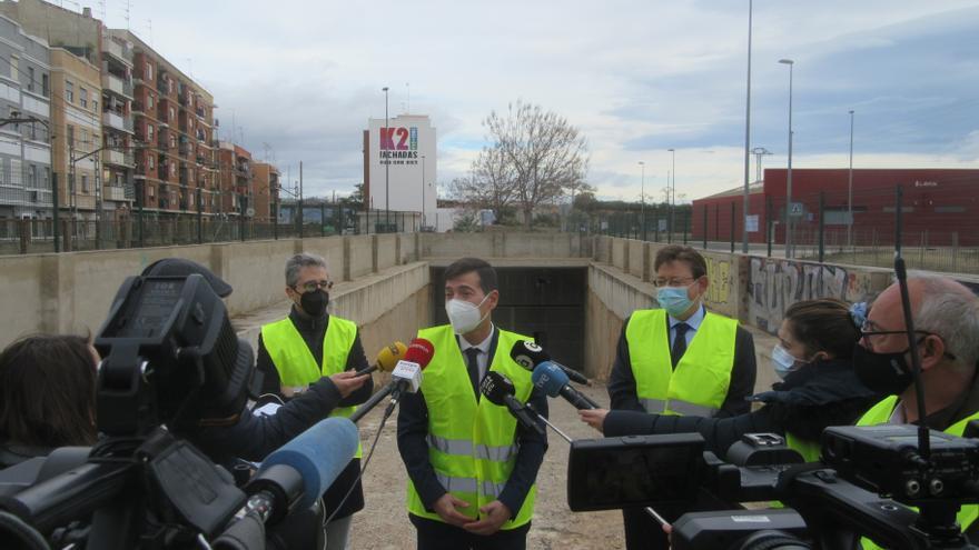Arrancan las obras de soterramiento del metro en Burjassot