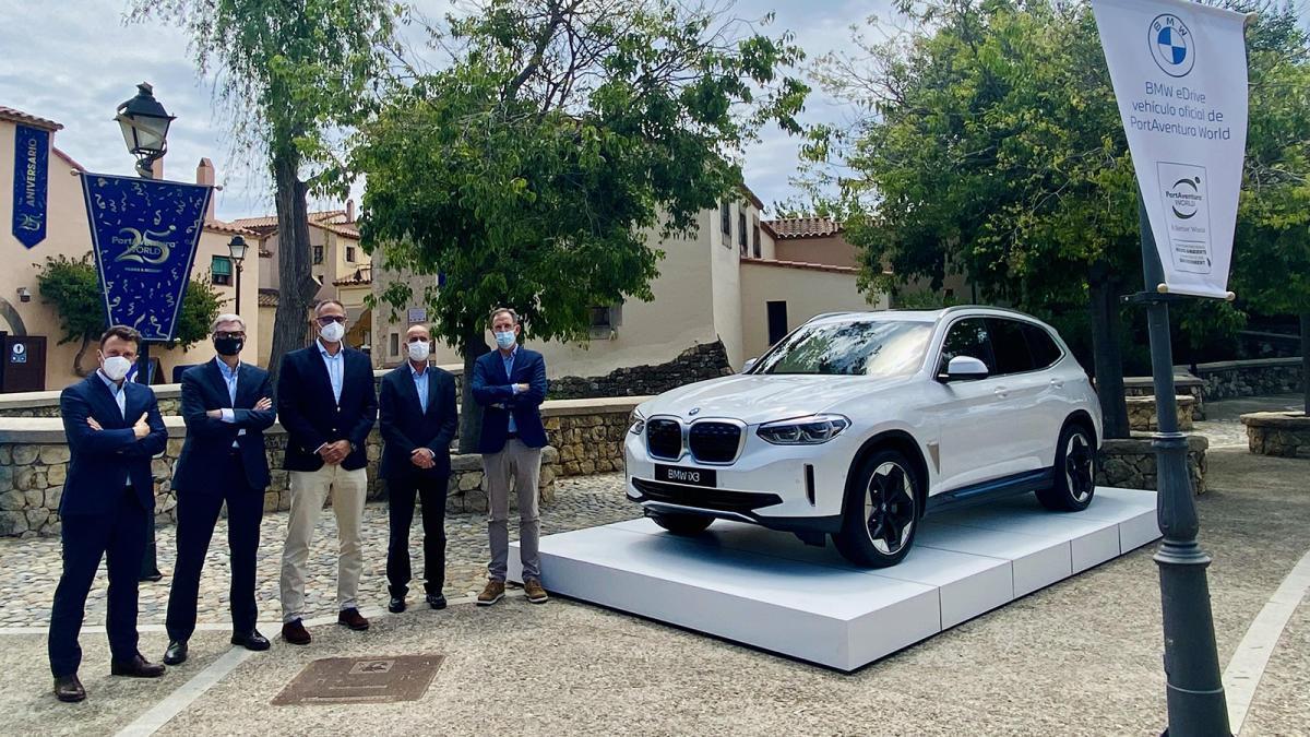 BMW firma un acuerdo de colaboración con PortAventura World