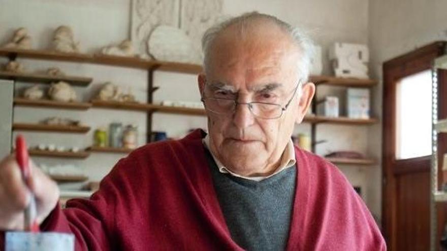 Fallece a los 93 años el artista Domènec Fita