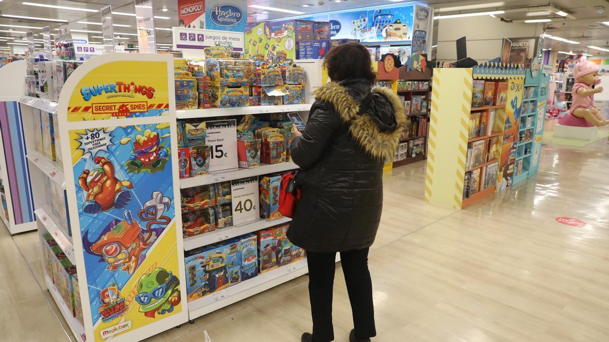 Los juguetes más populares para Navidad.