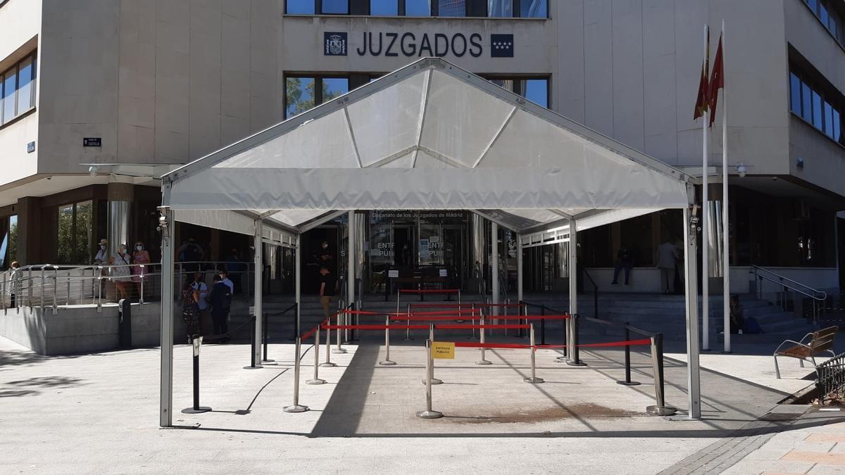 Juzgados ordinarios de Plaza de Castilla.