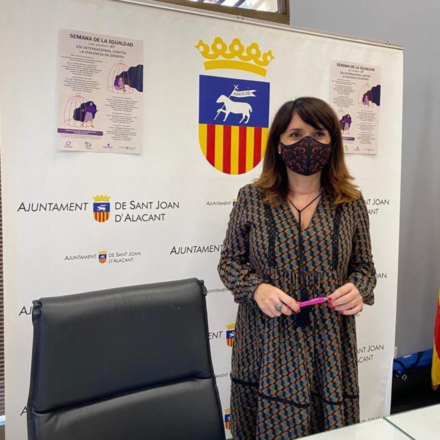 Concejal de Igualdad Ayuntamiento de Sant Joan, Julia Parra.