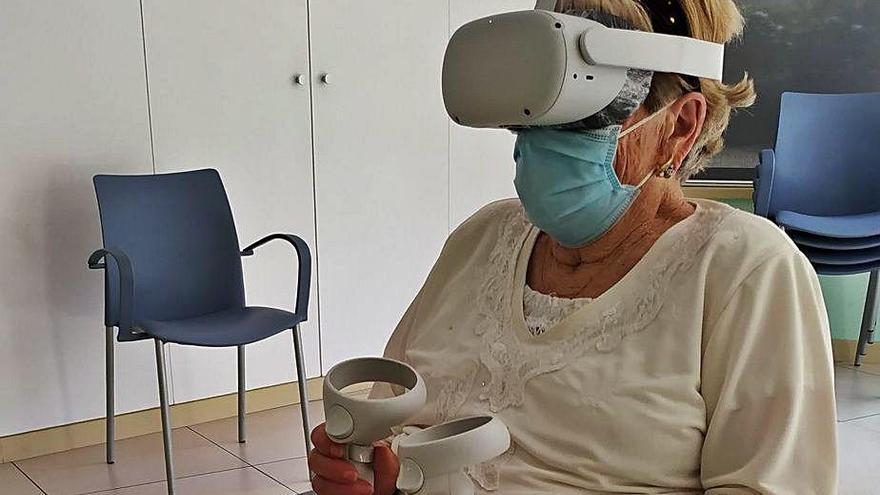 L'Hospital de Dia Sant Jordi aplica la realitat virtual en la neurorehabilitació