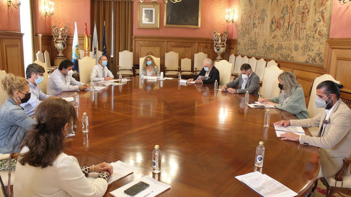 Reunión de la Diputación