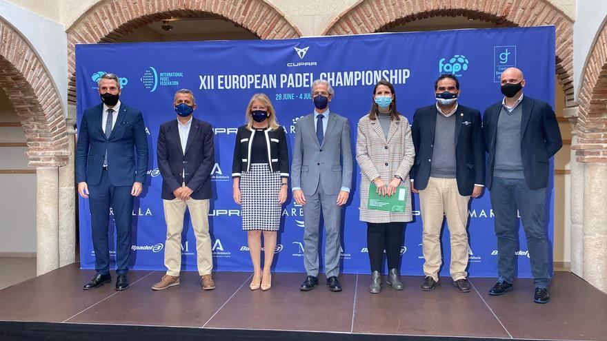 Marbella acogerá el XII Campeonato Europeo de Pádel