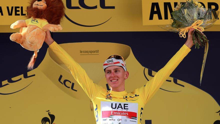 Tour de Francia: Pogacar no duerme bien pero quita el sueño a los demás