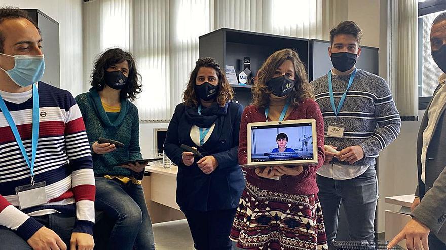 """""""Nora"""", el avatar ovetense que atenderá a los pacientes de la sanidad asturiana"""