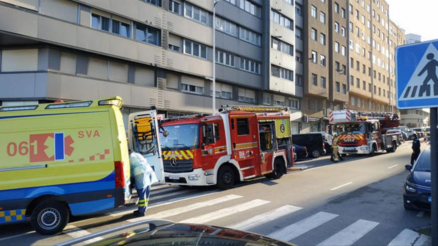 Los bomberos, en O Ventorrillo por un aviso de incendio