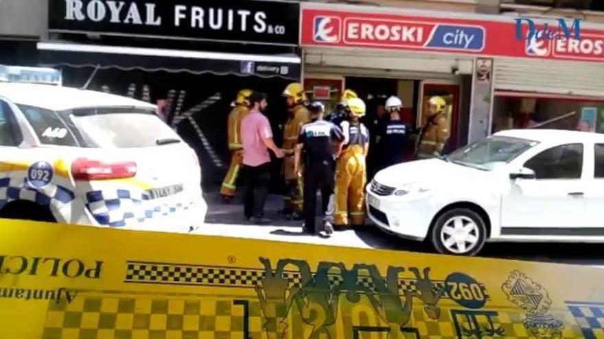 Sechs Verletzte bei Teileinsturz eines Supermarktes in Palma