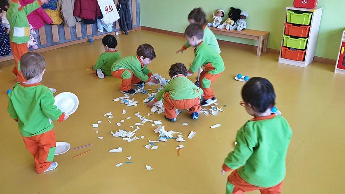 La misma empresa ya se hizo cargo de la escuela infantil promovida por Aemos en A Veigadaña. |   // FDV
