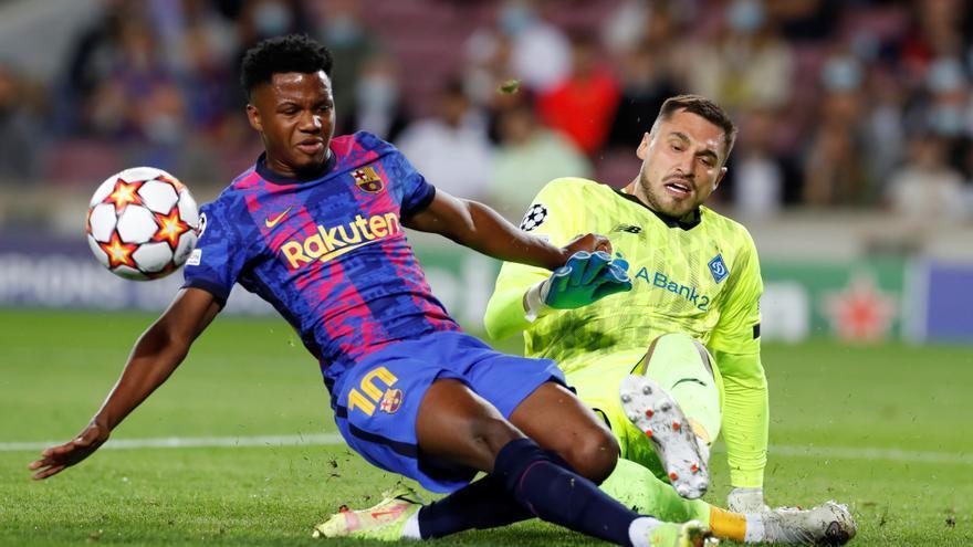 El Barça renueva a Ansu hasta el 2027 y le pone cláusula de 1.000 millones