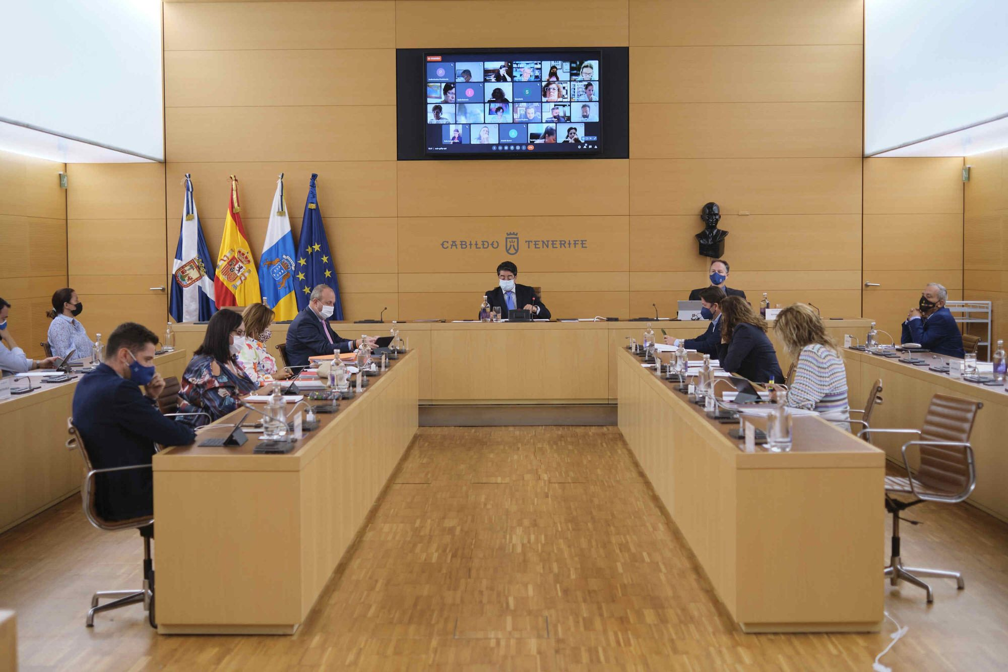 Pleno del Cabildo de Tenerife, 20/09/2021
