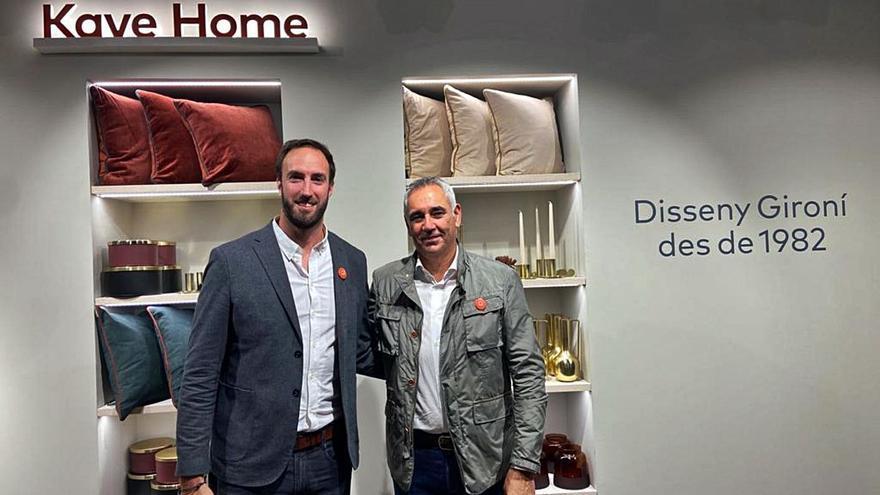 «Èxit» en la inauguració  de Kave Home a Girona