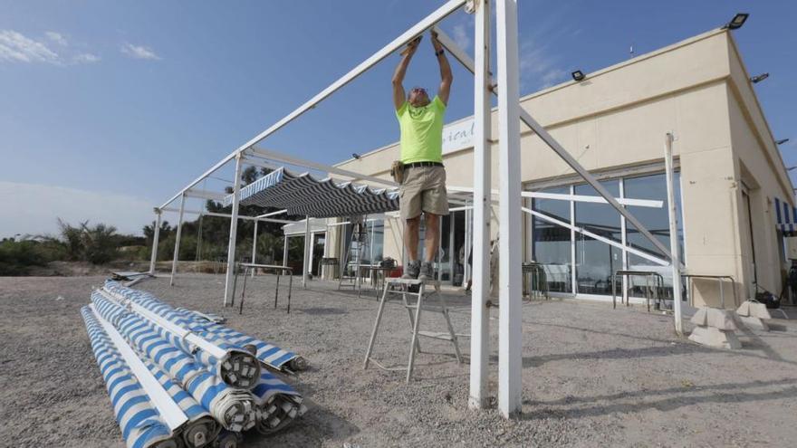 Desmontan las terrazas de Pinedo y el Saler