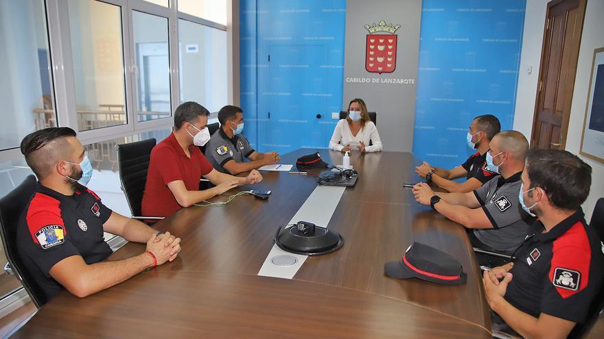 El Cabildo solicita el apoyo de la Policía Autonómica Canaria para frenar la cadena de contagio del coronavirus