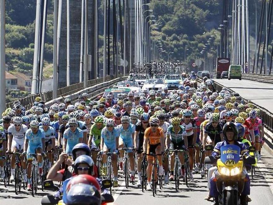 La Vuelta Ciclista a España, en Rande