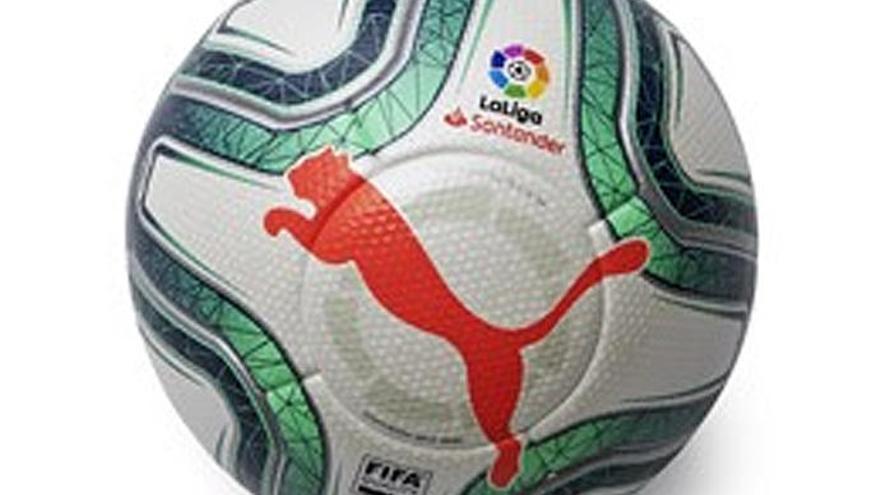 Así es el nuevo balón de la marca Puma para LaLiga